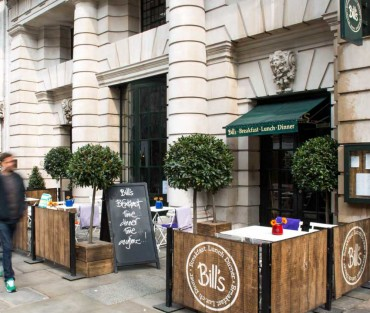 38-42 KINGSWAY, WC2 – BILL'S & PAUL